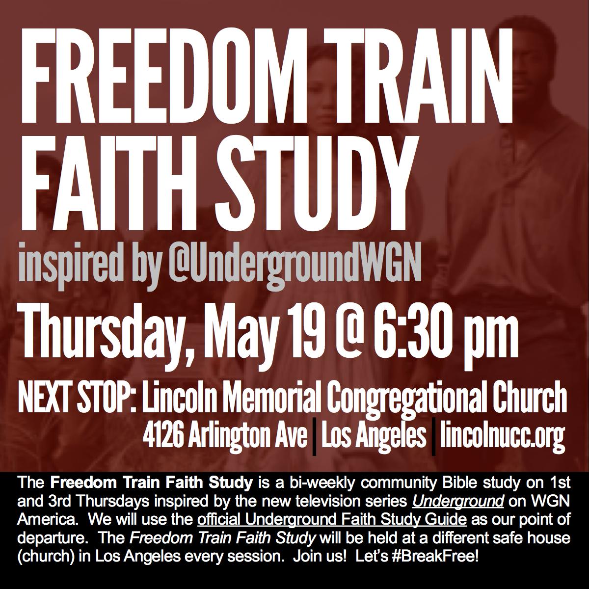 Freedom Train social media ad - Lincoln